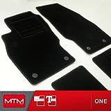 MTM Fussmatten Corsa D ab 2006-11.2014 Passform wie Original aus Velours, Automatten mit Absatzschoner aus Textile, Rand rutschhemmender, cod. One 2533