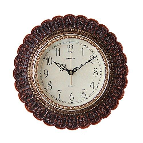 Sunjun Europäische Moderne Minimalistische Schöne Künste Mute Wanduhr Kleine Uhr ( Farbe : #1 ) - Wanduhr Digital Kleine