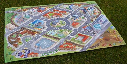 Außen der Stadt-Tischdecke aus polyester, 200 x 140 cm