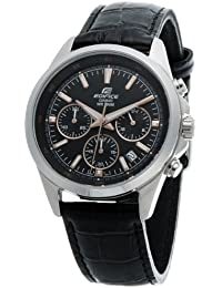 Casio Edifice Chronograph Black Dial Men's Watch - EFR-527L-1AVUDF (EX101)