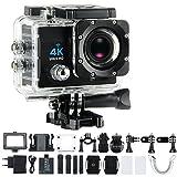 Sport Action Camera 4K Ultra HD 30fps Wifi Waterproof Cam...