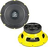 GROUND ZERO Mid Woofer 20cm GZCK 200SPL (prezzo singolo pezzo) per fronte da urlo auto 20 cm MEDIO BASSI