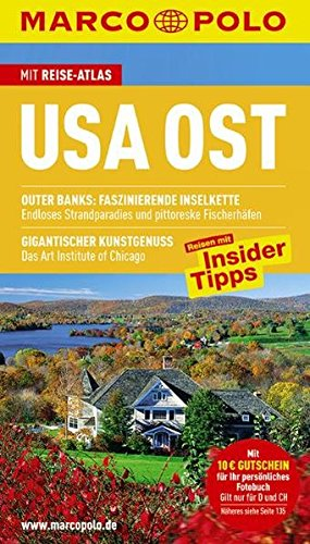 Image of MARCO POLO Reiseführer USA Ost