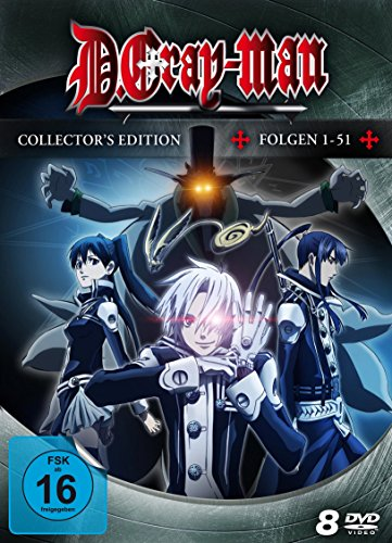 D.Gray-Man – Collector's Edition [8 DVDs]