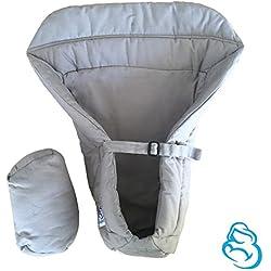 Cojín reductor bebe para Recién Nacidos | Válido para la Mochila Portabebes de Mipies | Mejora la posición del bebe | 100% Garantía y Envío Gratuito