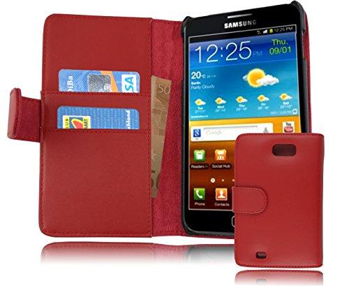 Cadorabo Coque pour Samsung Galaxy Note 1 Chili Rouge