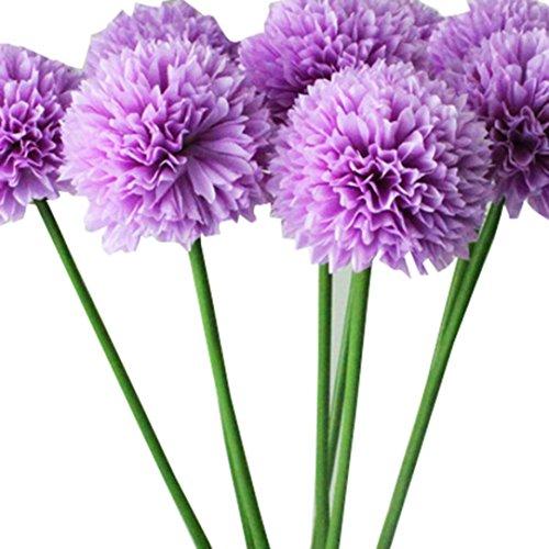 CLEARANCE! MEIbax 5pcs lavendel ball künstliche blumen - bouquet (home hochzeit dekoration (Lila)