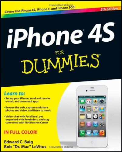 Preisvergleich Produktbild iPhone 4S For Dummies