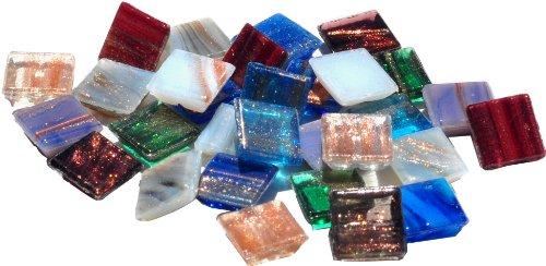 Mosaic Mercantile Vitreous Glass Tiles .5lb-Metallic