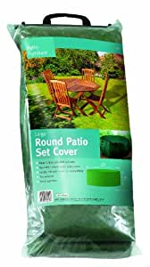 Gardman Woven Poly Large Round Patio Set Cover 34015