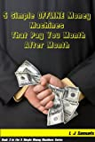 Image de 5 Simple OFFLINE Money Machines that Pay you Over and Over (5 Simple Money Machines Book 3) (English Edition)