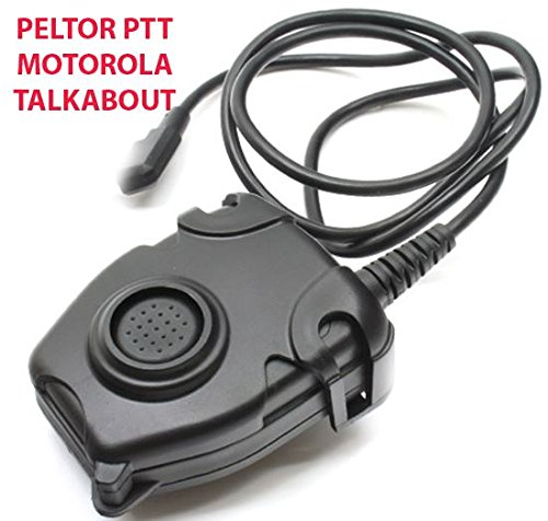 Preisvergleich Produktbild AIRSOFT TOMTAC PELTOR PTT BLACK 2 WAY RADIO SWITCH SORDINS COMTAC MOTOROLA 1 PIN