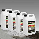 20 Liter GRUNDREINIGER Intensiv Naturstein Reiniger Marmor Fliesen, Stein und Beton L - 20 L Konzentrat