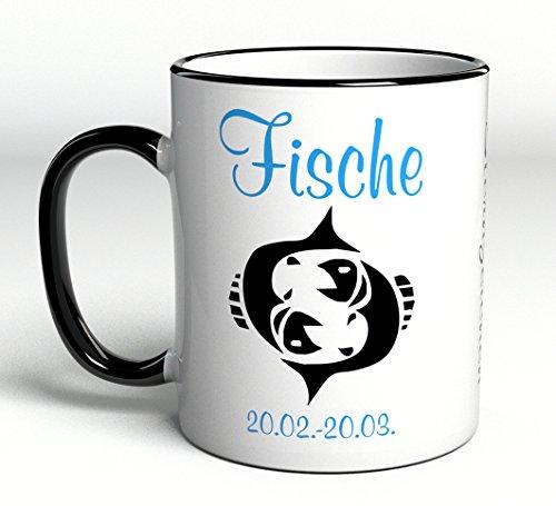 51uByAbCaxL Sternzeichen Fische Kaffeetasse Becher Tasse