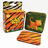 #8: Jungle Enigma 3 Card Memory Game Animal, Pattern, Silhouette