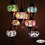 Mosaik Lampe Deckenlampe Orientalische Lampe Türkei Mosaik Hängelampe 8 Lampen