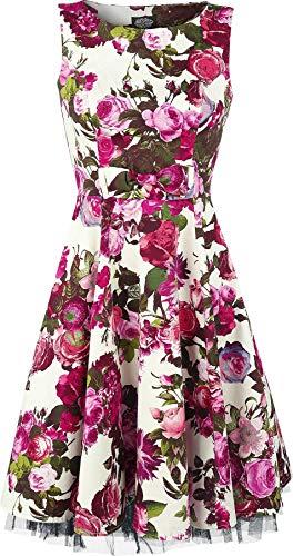 H&R London Audrey 50's Mittellanges Kleid Multicolor 3XL