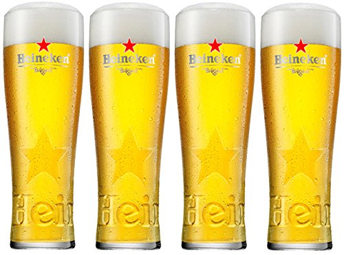 set-of-4-heineken-pint-glasses-toughened-and-nucleated-4-glasses