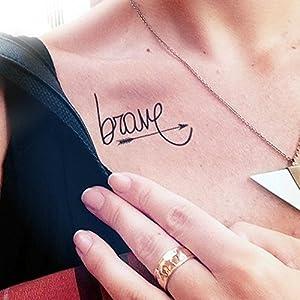 Brave - Temporäres Tattoo
