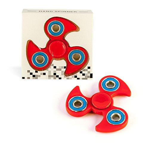 DS24 Spinner in Rot Blau - Hand Spinner - Fidget Spinner DE frei Haus