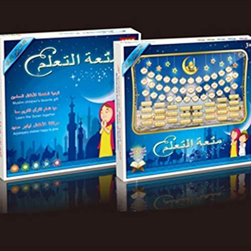 FDBF Portable Quran Learning Machine Muslim Islamic Holy Quran Pad Tablet  Toy Kids b0889296c5e5