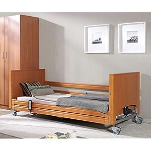 Schlichter Möbel Pflegebett Frontenheber PB 337″ Niederflurbett 90 x 200 Motor/elektrisch