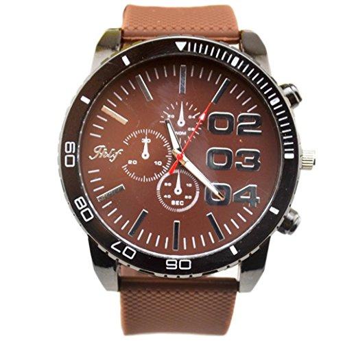 Preisvergleich Produktbild Internet Luxus Sport Analog Quarz Uhr Herrenuhr Edelstahl RS Stahl Handgelenk