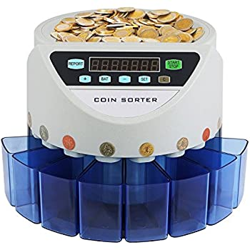 Speedwellstar Auto Uk Coin Counter Fast Sorter Money Cash