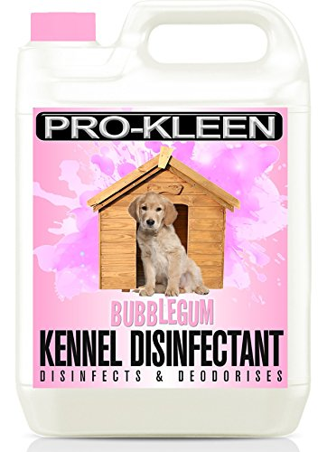 5l-of-pro-kleen-high-concentration-2-in-1-kennel-cleaner-disinfectant-deodoriser-bubblegum-fragrance