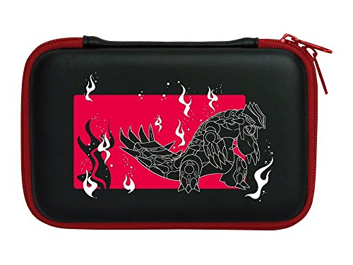 3DS XL Hard Pouch Omega Ruby (Groudon)