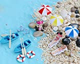 Bombom Tree 22 Pcs Beach Style Miniature Ornament Kits Set for DIY Fairy