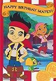 Jake und die Nimmerland Piraten - Matey Essteller Glückwunschkarte zum Geburtstag