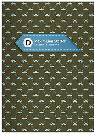 32 Hipster cahiers personnalisés avec des moustaches, vert-olive, A4 A4 A4 (29,7 x 21; 32p) cahiers de maths, linéatur 26 (carreaux 5mm; avec bord) | Ont Longtemps Joui D'une Grande Renommée  2f61b4
