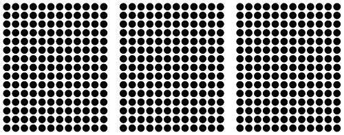540adhesivos, 12mm, Negro, Funda de PVC, resistente a la intemperie, LabelOcean círculos puntos Pegatinas