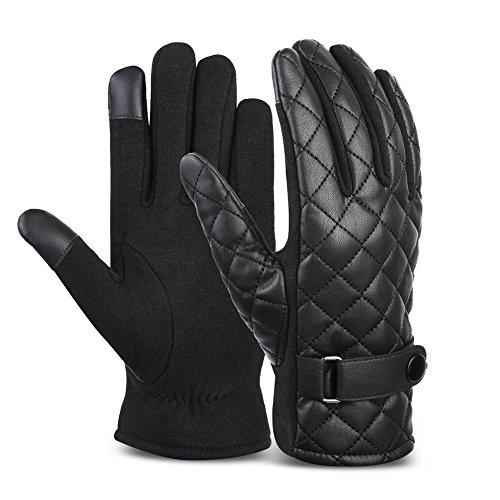 Vbiger Handy handschuhe Smartphone Touch Handschuhe für Herren