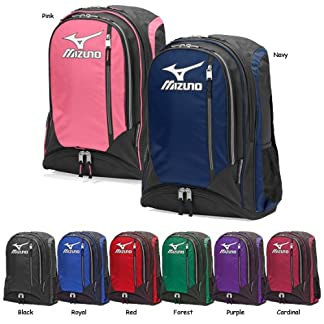 Mizuno New 470117 Organizer Batpack Baseball/Softball Purple/Black