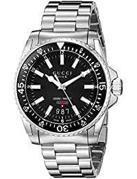 Gucci Men's Analogue Quartz Watch with Stainless Steel Bracelet – YA136301