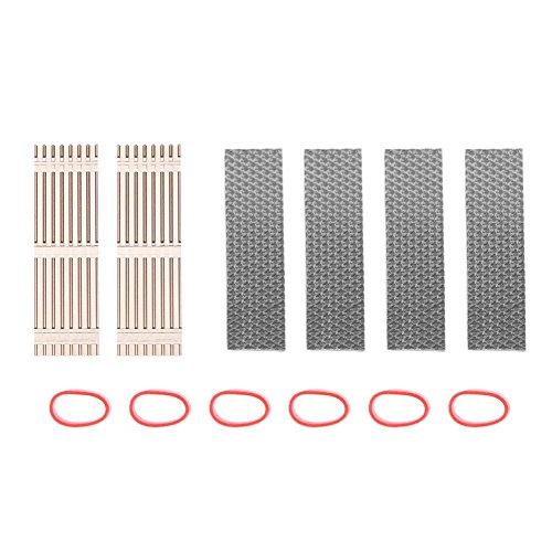Preisvergleich Produktbild prettygood7 Kühler aus Aluminium für M.2 NGFF SSD, 2 Stück