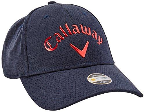 Callaway Liquid Metal réglable Headwear Taille unique bleu marine/rouge