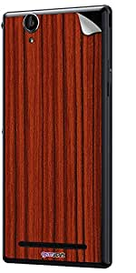 GsmKart SXT2 Mobile Skin for Sony Xperia T2 (Brown, Xperia T2-977)