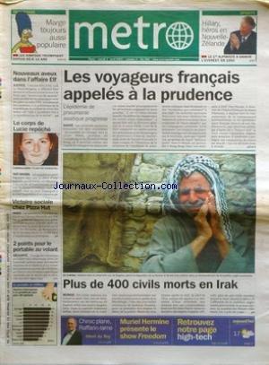 metro-no-260-du-01-04-2003-les-voyageurs-francais-appeles-a-la-prudence-lepidemie-de-pneumonie-asiat