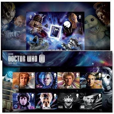 Dr Doctor Who Stempelgeschenkpäckchen -