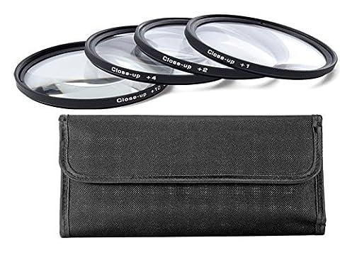 77MM (77 mm) Close-Up Makro Filter-set (+1, +2, +4, +10, Dioptrien ) für Canon, Carl Zeiss, Fujifilm, Nikon, Panasonic, Pentax, Olympus, Samsung, Sigma, Sony, Tamron, Tokina Objektiv (77mm