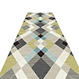 HAIPENG-alfombras pasillo Extra Largo Corredor Antideslizante Entradas Estera Entrada Alfombra Contemporáneo (Color : B, Tamaño : 0.6x3.5m)