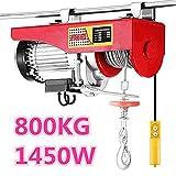 Paranco elettrico, 1450W, (400kg / 800kg)