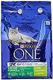 Purina ONE Indoor Dry Cat Food Turkey and Wholegrain 3kg