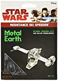 Star Wars The Last Jedi Metal Earth Resistance Ski Speeder Space Ship Metal Model Kit - Brand New Factory Sealed