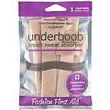 Underboob: Breast Sweat Absorbing Strap, Beige