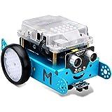 Makeblock MBot Upgrated Version DIY Mbot V1.1 Arduino C Graphical Programming Educational Robot Kit for Kids / Adults, Robotics Electronic, STEM Education - Blue (Bluetooth Version)