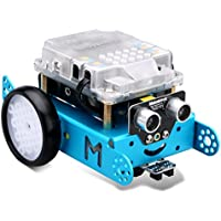 Makeblock MBot Upgrated Version DIY Mbot V1.1 Arduino C Graphical Programming Educational Robot Kit for Kids / Adults, Robotics Electronic, STEM Education - Blue (Bluetooth Version)